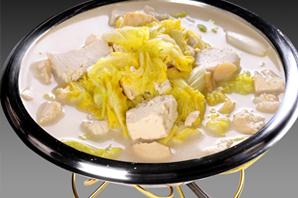 白菜炖老豆腐