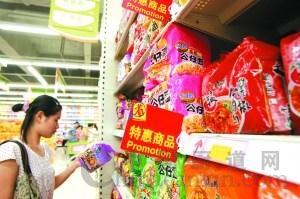 食品包装晒全部添加剂种类繁多令消费者担忧
