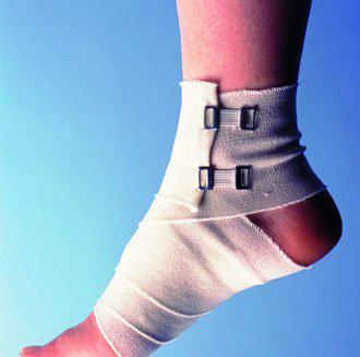 跑步扭伤脚后肿了怎么办?