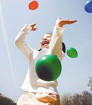 打气球 低成本 大健康
